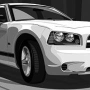 2008 Dodge Charger Illustration