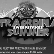 Universal Orlando Sweepstakes